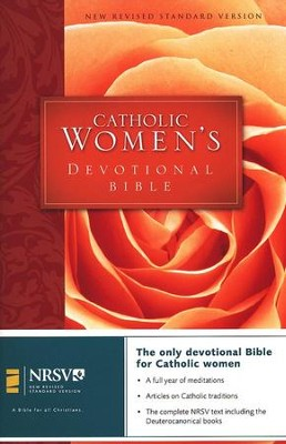 NRSV Catholic Women's Devotional Bible, Hardcover - Slightly Imperfect  -