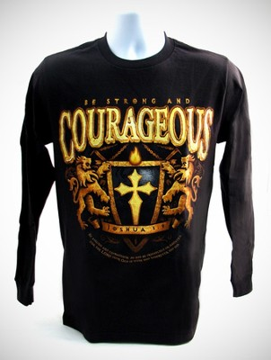 Be Courageous Long-sleeve Tee, Medium (38-40)  -