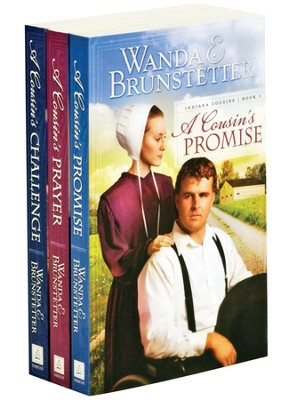 Indiana Cousins Series, Volumes 1-3   -     By: Wanda E. Brunstetter