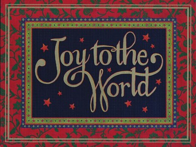 Joy to the World Christmas Cards, Deluxe Box of 16  -