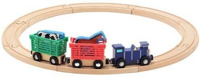 Farm Animal Train Set  -