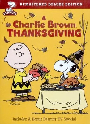 A Charlie Brown Thanksgiving, Deluxe Edition DVD   -