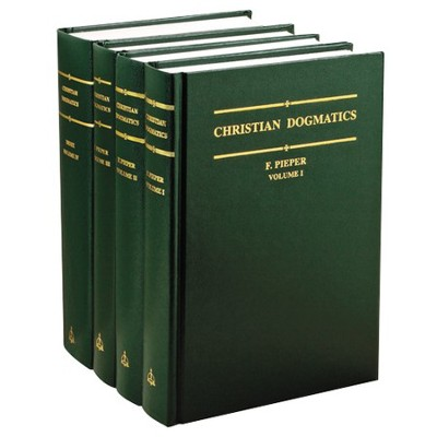 Christian Dogmatics, 4 Volumes   -     By: Francis Pieper