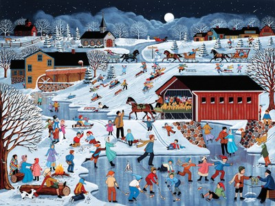 More Snow Coming Advent Calendar  -