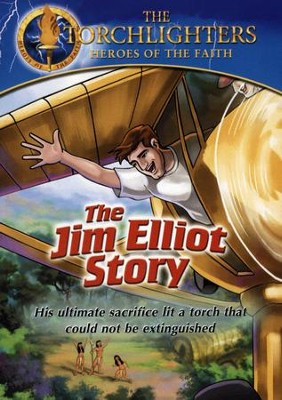 The Torchlighters Series: The Jim Elliot Story, DVD   -