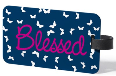 RuMeID Luggage Tag, Blessed  -