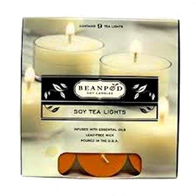 Maple Pumpkin Muffin Tea Lights, 9 Pack  -
