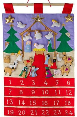 Holy Night Fabric Advent Calendar  -
