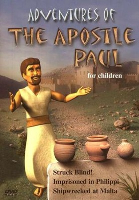 Adventures of The Apostle Paul, DVD   -