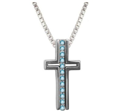 Knowledge Trinity Cross Pendant  -