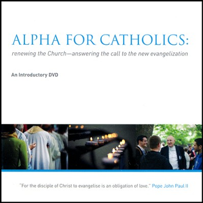 Alpha for Catholics Introductory DVD  -