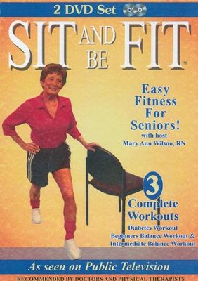 Sit and Be Fit: Diabetes & Balance Workouts - 2 DVD   -