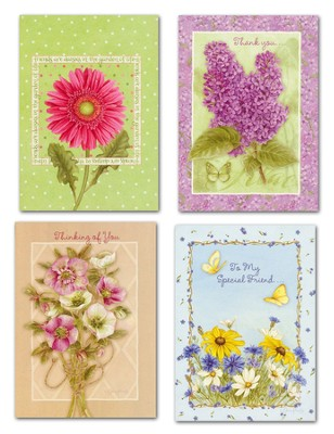 Blessings of Nature All Occasion Cards, Box of 12   -     By: Jane Shasky