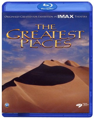The Greatest Places, Blu-ray   -