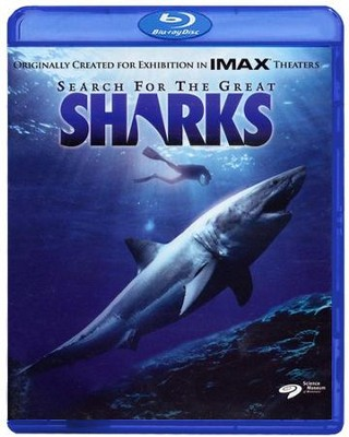 Search for the Great Sharks, Blu-ray    -