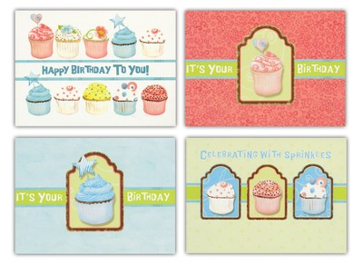 Sweet Celebrations Cards, Box of 12   -     By: Audrey Jeanne Roberts