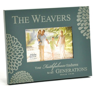 Personalized, Your Faithfulness 2X3 Photo Frame, Gray   -