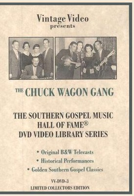 Hall of Fame, Volume 3 DVD  -     By: The Chuck Wagon Gang