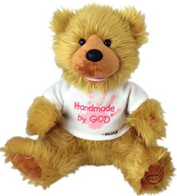Plush Bear Handmade by God Pink Shirt  -