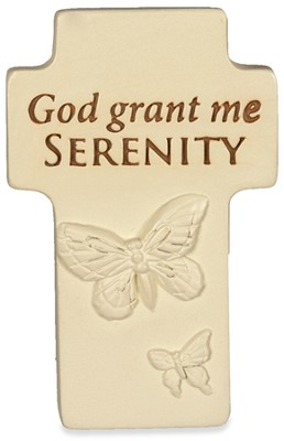 God Grant Me Serenity Cross  -