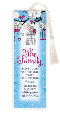 The Family That Prays together Bookmark  -