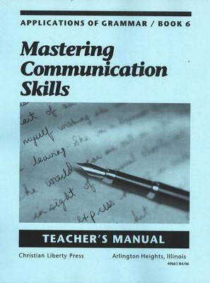 Applications of Grammar Book 6 Teacher's Manual, Grade 12    -     By: Annie Lee Sloan