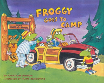 Froggy Goes to Camp  -     By: Jonathan London