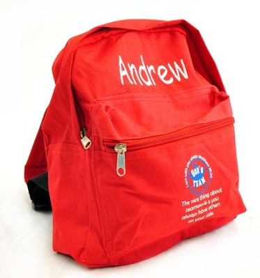 Personalized, God's Team, Kids Backpack   -