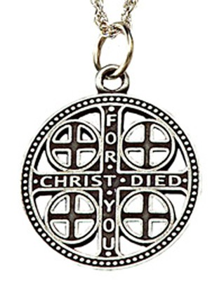 Episcopal Service Cross, Pewter   -