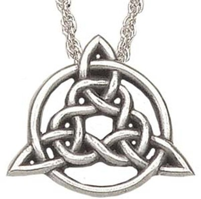Celtic Circle Of Life Trinity  -