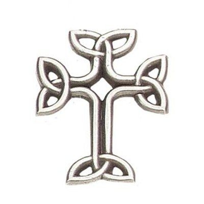 Celtic Knot Cross Pendant  -