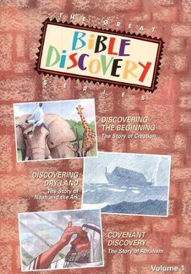 The Great Bible Discovery Series, Vol. 1 - DVD   -