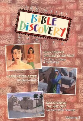 The Great Bible Discovery Series, Vol. 2. - DVD   -