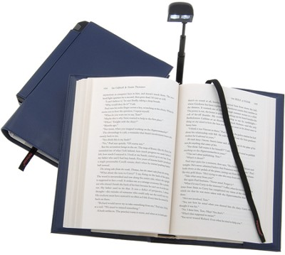 Periscope(R) Bookcover with Light, Large, Blue   -