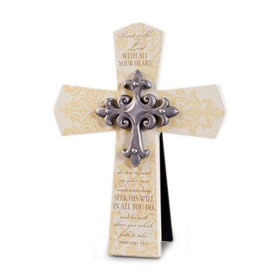 Trust in the Lord Wall Cross  -