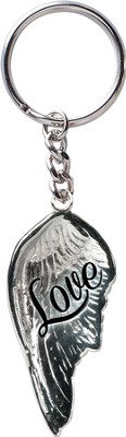 Angel Wing Keyring, Love  -
