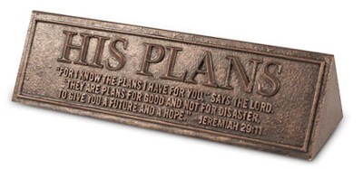 His Plans Desktop Reminder  -