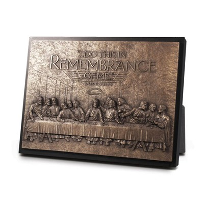 The Last Supper Sculpture Plaque  -