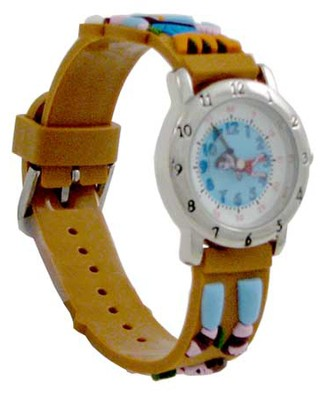 David and Goliath Child's Watch, Brown  -