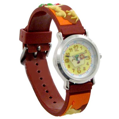 Daniel in the Lion's Den Child's Watch, Brown  -