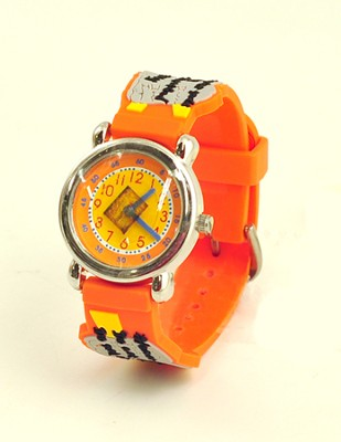Ten Commandments Child's Watch, Orange  -