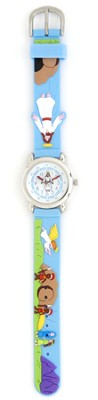 Jesus' Ascension Child's Watch, Blue  -