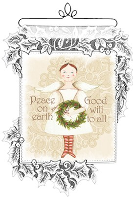 Peace On Earth Mini Wall Hanging  -
