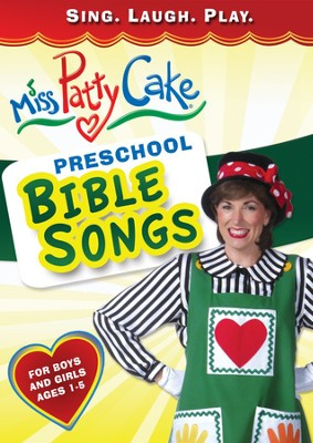 Miss PattyCake: Preschool Bible Songs, DVD   -
