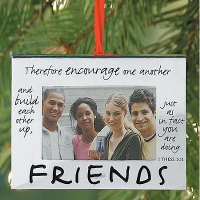 Friends Photo Frame Ornament   -