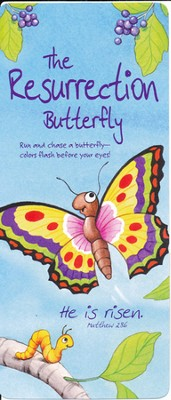 The Resurrection Butterfly Bookmark and Stickers  -