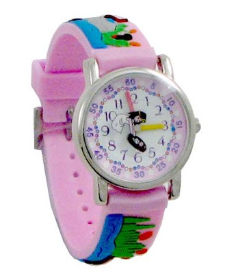Miriam and Moses Child's Watch, Pink  -