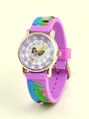 Miriam and Moses Child's Watch, Purple  -