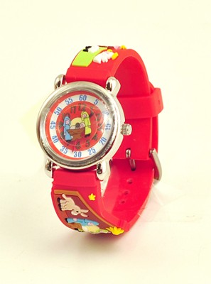 Nativity Child's Watch, Red  -