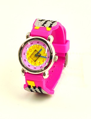 Ten Commandments Child's Watch, Pink  -